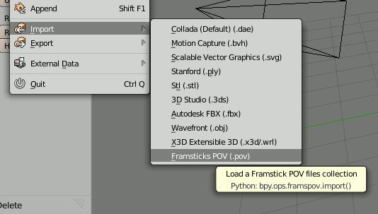Processing 3D animations in Blender | Framsticks
